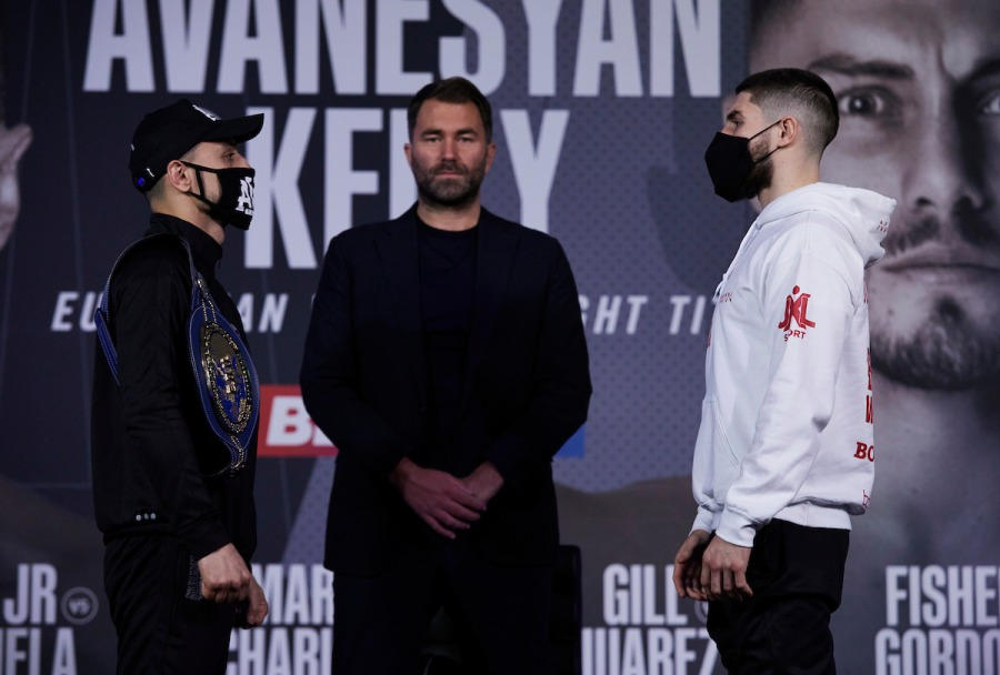 David Avanesyan vs. Josh Kelly Press Conference Face Off