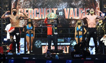 Miguel Berchelt vs. Oscar Valdez Weigh In