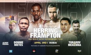 Jamel Herring and Carl Frampton