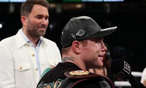 Eddie Hearn on Canelo vs. Saunders