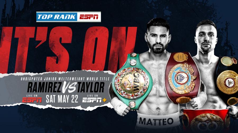 Jose Ramirez vs. Josh Taylor