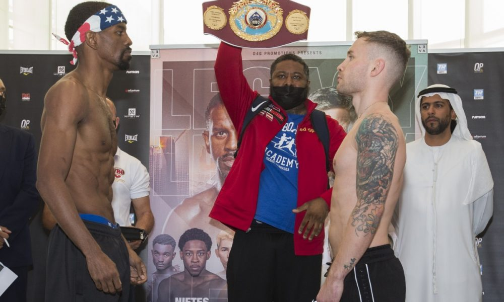 JAMEL HERRING VS. CARL FRAMPTON FIGHT RESULTS