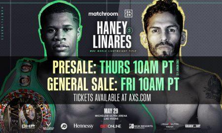 Haney vs. Linares Tickets
