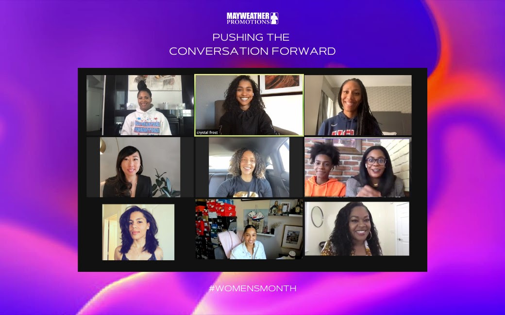 MAYWEATHER PROMOTIONS LAUNCHES DIGITAL SERIES: PUSHING THE CONVERSATION FORWARD