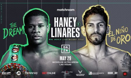 DEVIN HANEY VS. JORGE LINARES FIGHT RESULTS