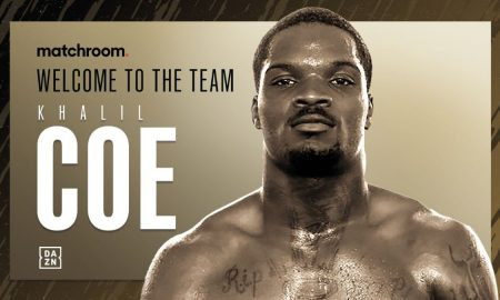Eddie Hearn and Matchroom are delighted to announce the signing of Team USA podium starlet Khalil Coe.