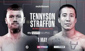 James Tennyson will face Jovanni Straffon