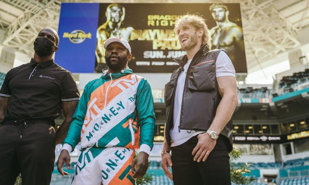 FLOYD MAYWEATHER RETURNS TO THE RING FOR AN EXHIBITION BOUT AGAINST LOGAN PAUL | Round By Round Boxing