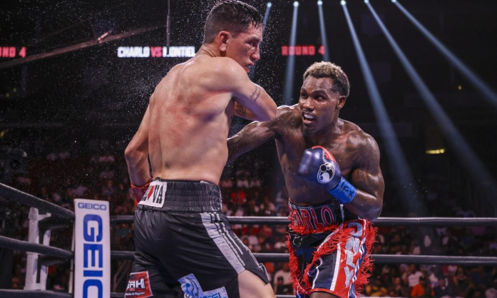 Charlo Defeats Montiel