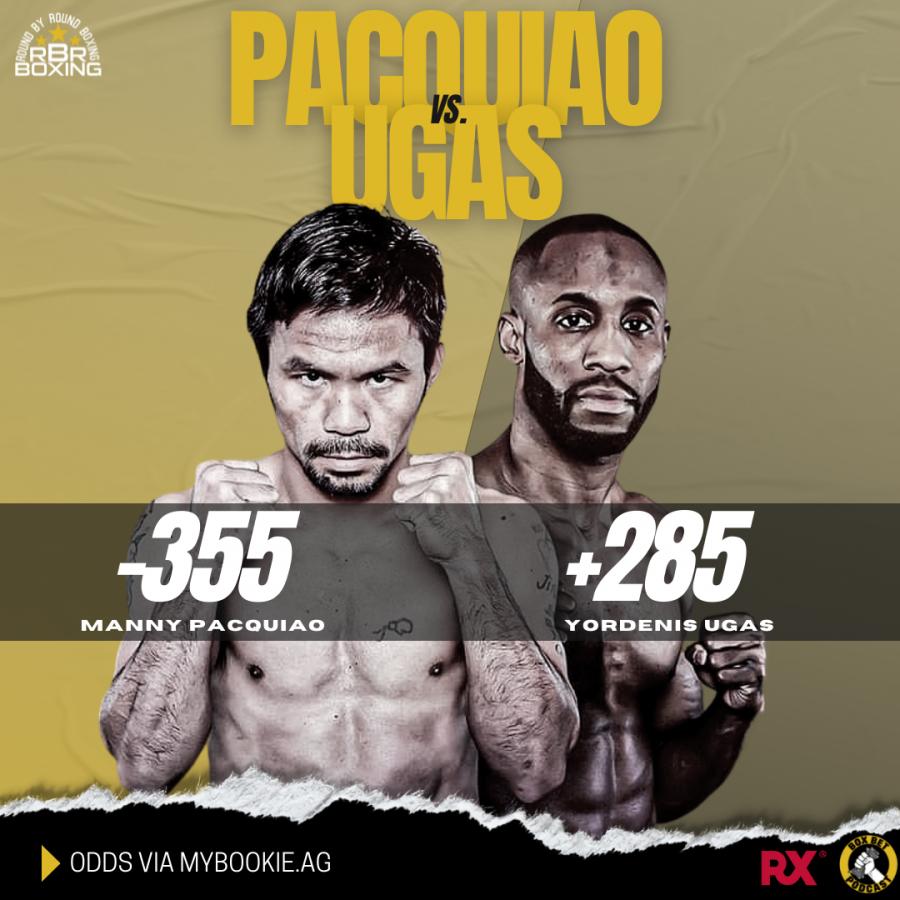 Pacquiao vs. Ugas Betting Odds