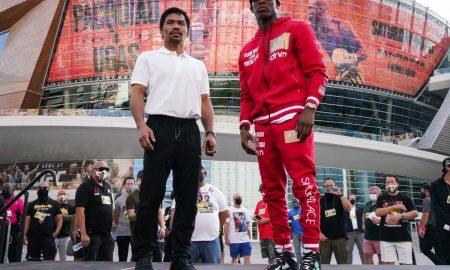 Manny Pacquaio and Yordenis Ugas