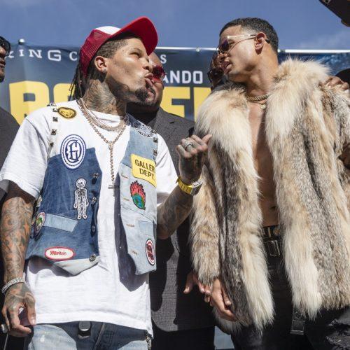 GERVONTA DAVIS VS. ROLANDO ROMERO LOS ANGELES PRESS CONFERENCE QUOTES AND PHOTOS