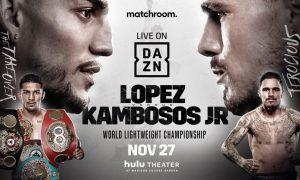 Lopez vs. Kambosos on DAZN
