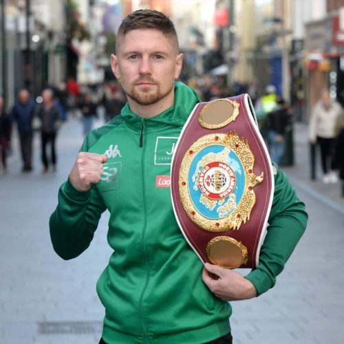 QUIGLEY: I WILL BRING THE BELT BACK TO IRELAND