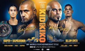 Kid Galahad vs. Kiko Martinez