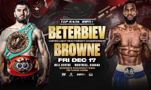 Artur Beterbiev vs. Marcus Browne